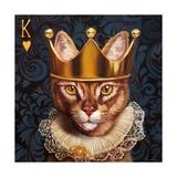 King of Hearts Poster von Lucia Heffernan