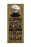Drink it Black Premium-giclée-vedos tekijänä Cory Steffen