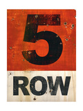 Row 5 B Premium Giclee Print by JB Hall