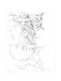 Capital Schematic I Premium Giclee Print by Ethan Harper