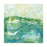 Turquoise Sea II Premium Giclee Print by J. Holland