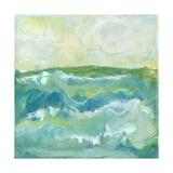 Turquoise Sea I Premium Giclee Print by J. Holland