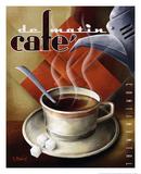 Café de Matin Giclée-Druck von Michael L. Kungl