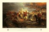 The Defence Of Rorke's Drift Gicléetryck av Lady Butler