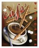 Café Pirouette Giclée-Druck von Michael L. Kungl