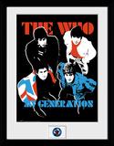 The Who - My Generation Reproduction encadrée pour collectionneurs