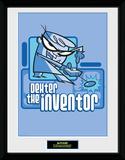 Dexters Laboratory - Dexter the Inventor Stampa del collezionista