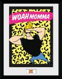 Johnny Bravo - Woah Momma Stampa del collezionista