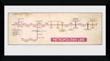 Transport for London - Metropolitan Line Stampa del collezionista