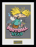 Hey Arnold - Football Head Samletrykk