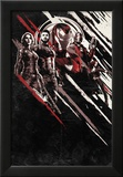 Avengers: Infinity War - Red and Black Streaks Kunstdrucke