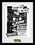 Sex Pistols - 100 Club Reproduction encadrée pour collectionneurs