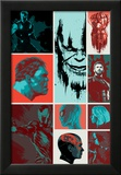 Avengers: Infinity War - Blocks Kunstdruck