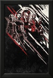 Avengers: Infinity War - Red and Black Streaks Posters