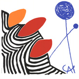 Untitled (No text) Serigrafia tekijänä Alexander Calder