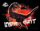 Jurassic World Fallen Kingdom - Instinct To Hunt Collector-tryk