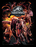 Jurassic World Fallen Kingdom - Montage Collector-tryk