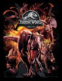 Jurassic World Fallen Kingdom - Montage Stampa del collezionista