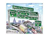 Welcome to Washington. Affiches par Matt Wuerker