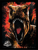 Jurassic World Fallen Kingdom - T-Rex Sketch Samletrykk