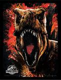 Jurassic World Fallen Kingdom - T-Rex Sketch Stampa del collezionista