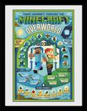 Minecraft - Overworld Biome Lámina de coleccionista