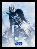 Solo: A Star Wars Story - Enfys Nest pose Reproduction encadrée pour collectionneurs