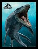 Jurassic World Fallen Kingdom - Mosasaurus Stampa del collezionista