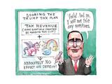 Scoring the Trump Tax Plan. Poster par Matt Wuerker