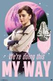 Han Solo - Qi'Ra Posters