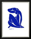 Blå akt Plakater av Henri Matisse