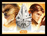 Solo: A Star Wars Story - Falcon Legacy Verzamelaarsprint