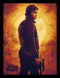 Solo: A Star Wars Story - Sunset Reproduction encadrée pour collectionneurs