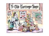 Ye Oldie Fearmonger Shoppe.  New!  Just in from the RNC. Posters par Matt Wuerker