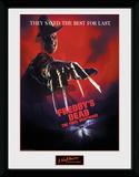 A Nightmare on Elm Street - The Final Nightmare Lámina de coleccionista