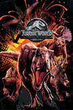 Jurassic World Fallen Kingdom - Montage Plakater