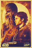 Solo: A Star Wars Story - Han and Chewie Plakater