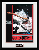 Friday the 13th - Only a Nightmare Collector-tryk