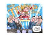The Trump Show. T. I miss the old debate format … Affiches par Matt Wuerker