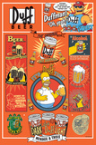 The Simpsons - Duff Poster