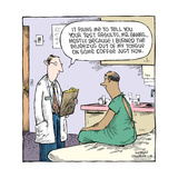 Speed Bump™ - Pains me to tell you your results… Mostly because I burned th Pôsters por Dave Coverly