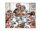 Thanksgiving Dinner. Affiches par Matt Wuerker