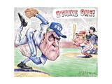 Strike one! FBI. MAGA. 45. Posters par Matt Wuerker