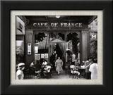 Café de France Affiches par Willy Ronis
