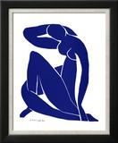 Blå akt II Poster av Henri Matisse