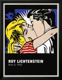 Kiss II, c.1962 Affiches par Roy Lichtenstein