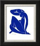 Blå akt II Posters av Henri Matisse