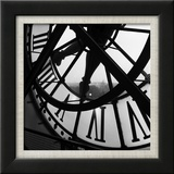 La grande horloge d'Orsay Affiches par Tom Artin