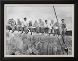 Déjeuner au sommet d'un gratte-ciel, 1932 Poster par Charles C. Ebbets