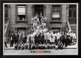 Portrait de jazz - Harlem, New York, 1958 Art par Art Kane